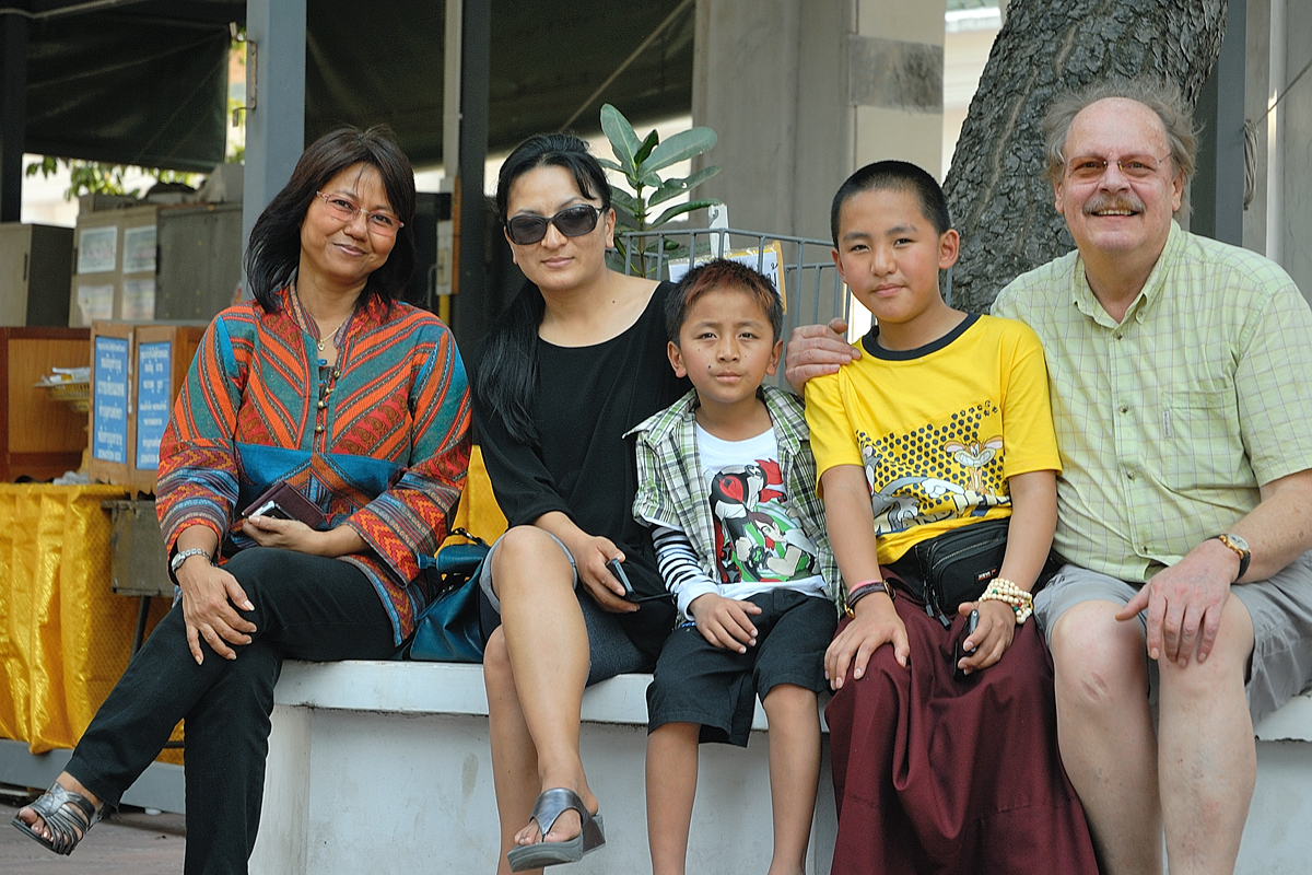 Bhutanese guests in Nakhon Pathom