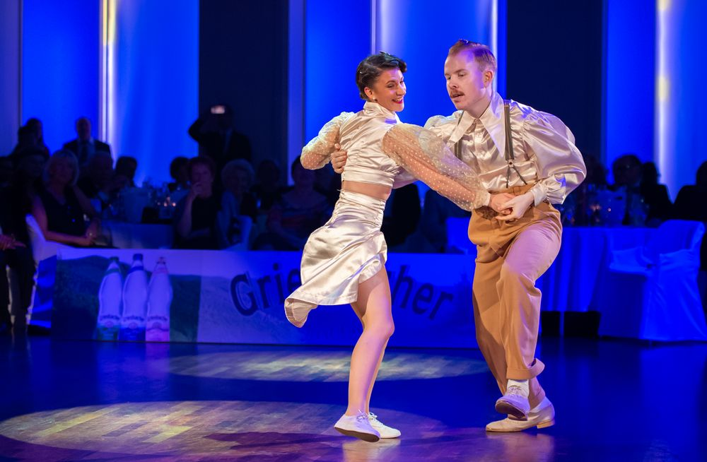 Bianca Locatelli&Nils Andren beim Lindy Hop