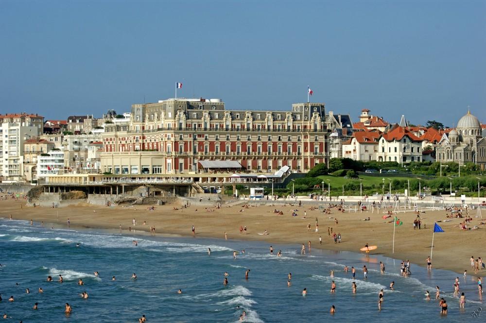 Biarritz........ avec un air de vacances