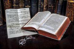 Bibelhandschriften und Drucke vor Luther