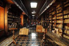 Bibliothek des Konvent »San Francisco« in Lima