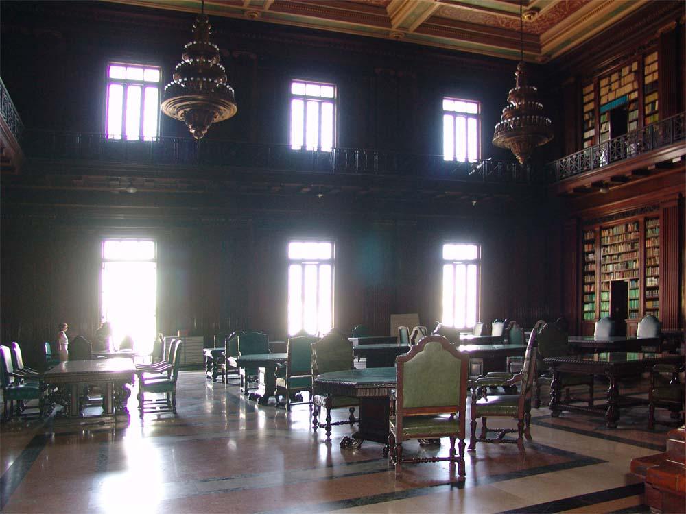 Bibliothek im Capitol in Havanna