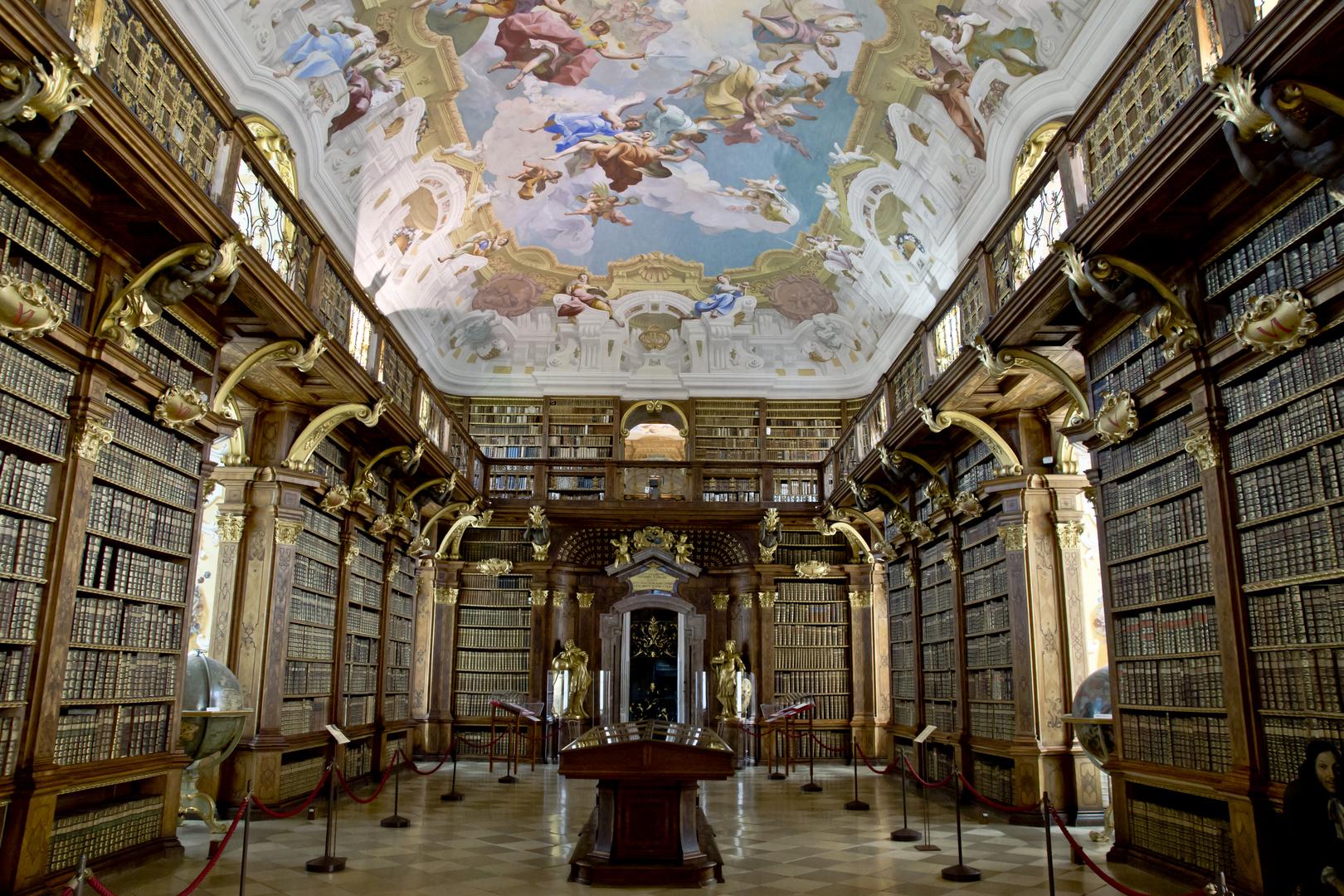 Bibliothek vom Stift Melk, Niederösterreich