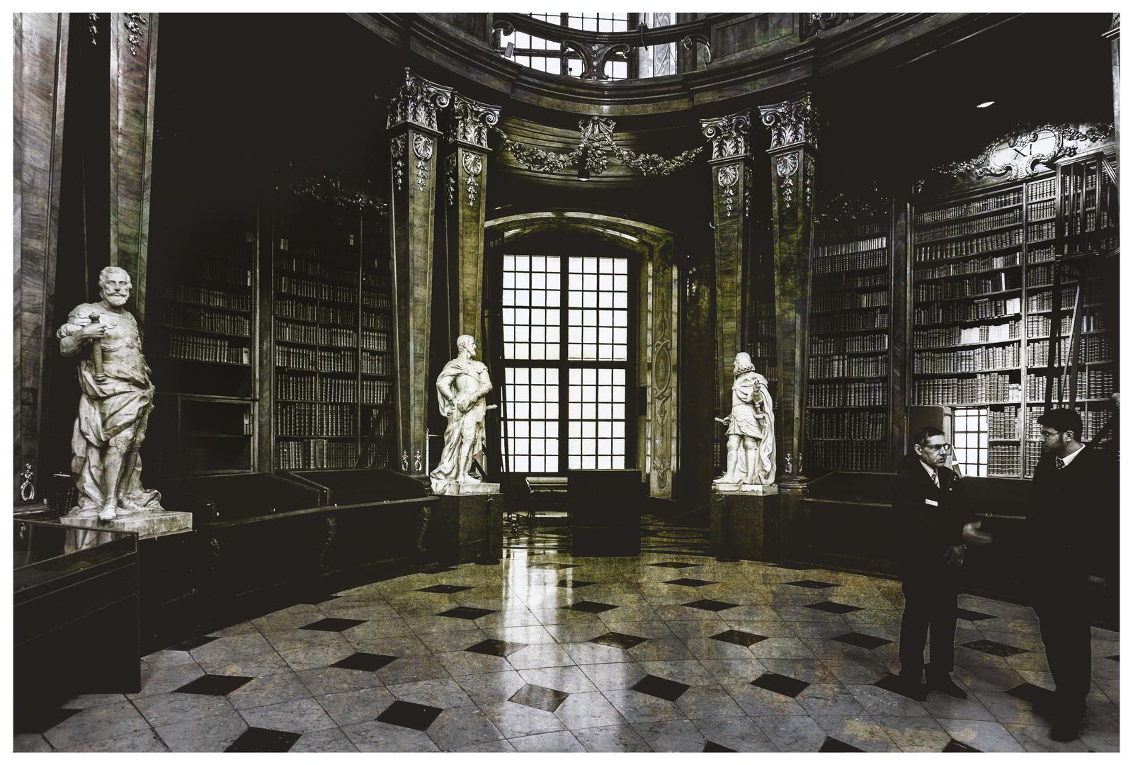 Bibliotheks-Wächter ...
