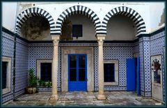 Bibliothéque Dar Ben Achour à la Médina de Tunis