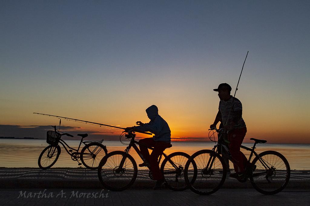 Bici y pesca