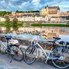 Bicicletas en Amboise