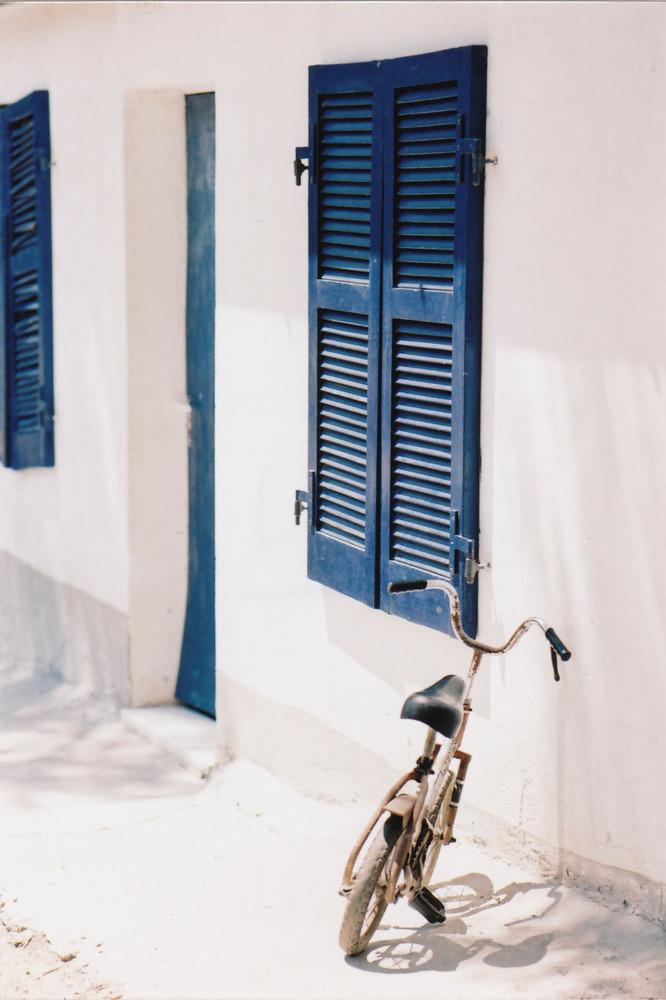 bicicletta e finestra...