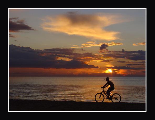 Bicikle driver