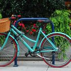 Bicycle at Whole foods in the Pearl