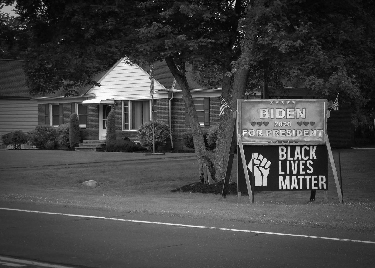 Biden / Black Lives Matter