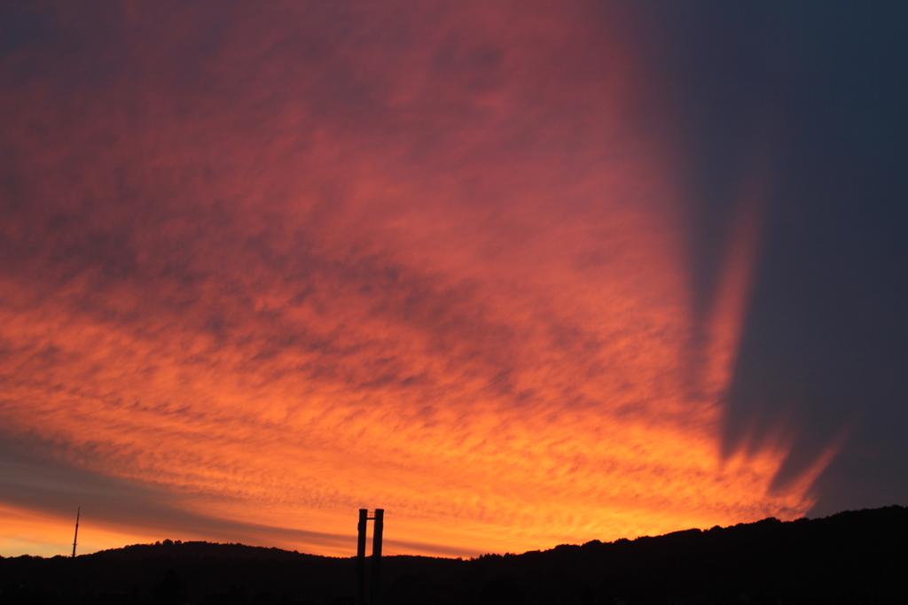 Bielefelder Sonnenuntergang