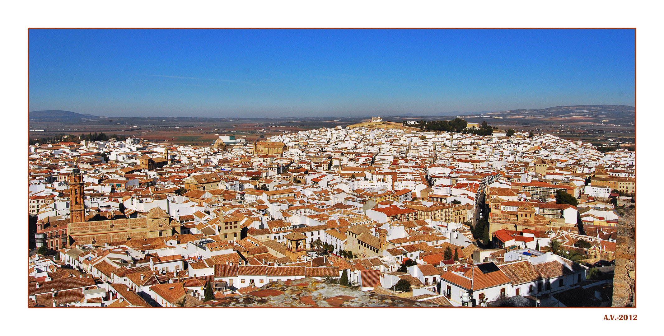 Bienmesabe antequerano 1. Panorámica