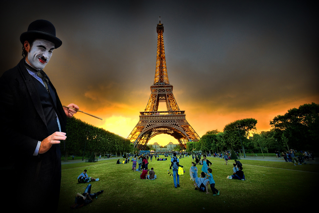 Bienvenus à la tour Eiffel..