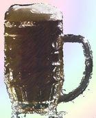 Bier Zeichnung