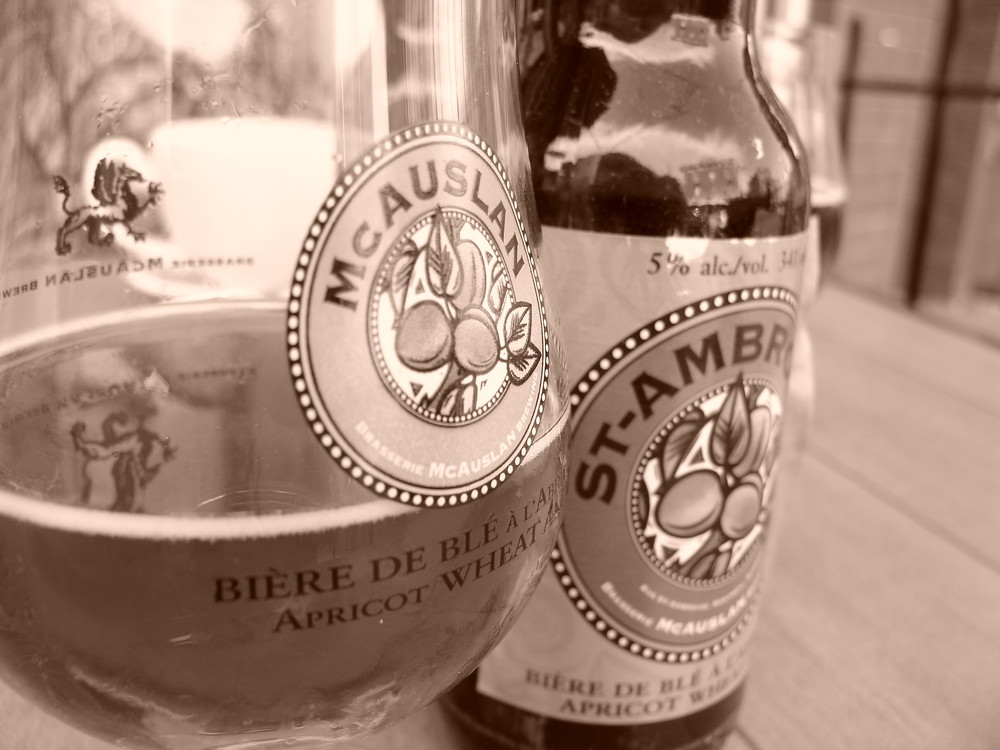 Bière après le boulot.