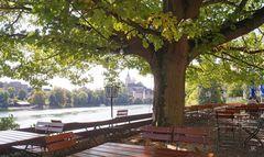 Biergarten am Hochrhein