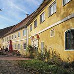 Biergarten Schloss Blumenthal- Bayern -