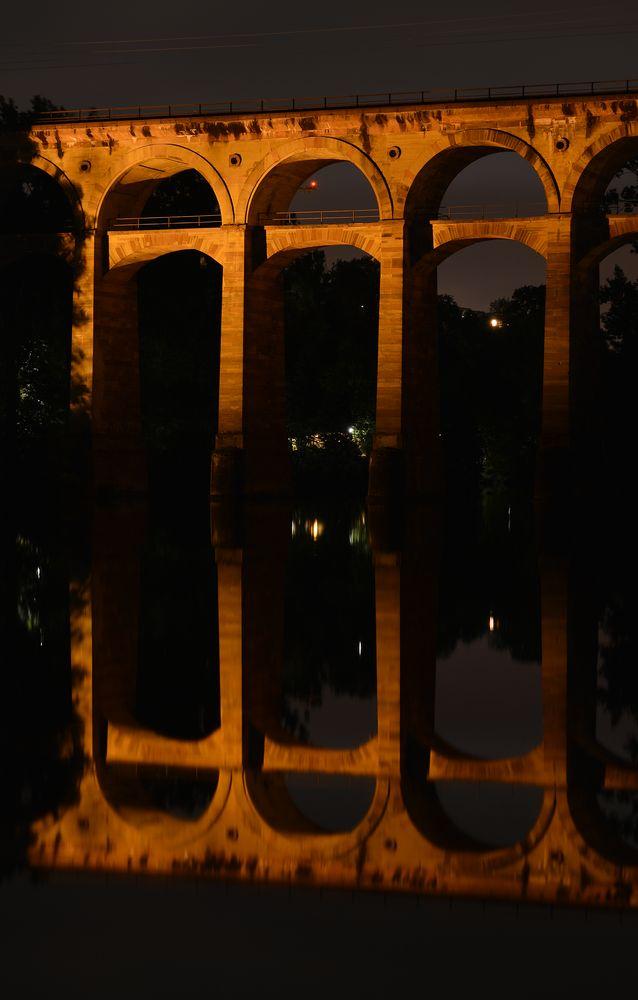 Bietigheim-Bissingen bei Nacht