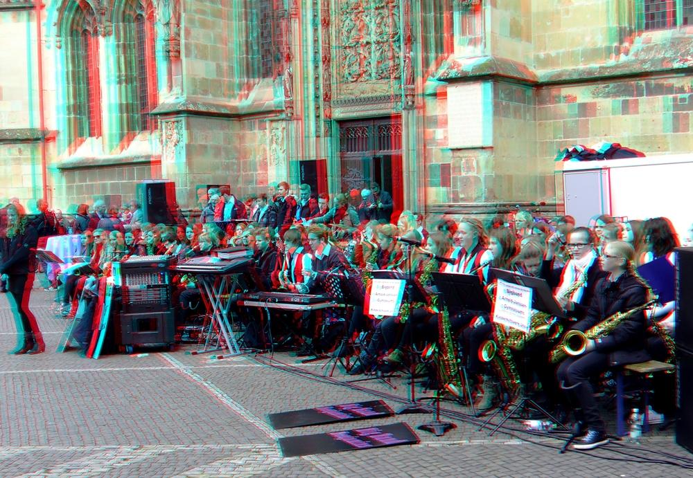 Big Band vor der Lamberti Kirche