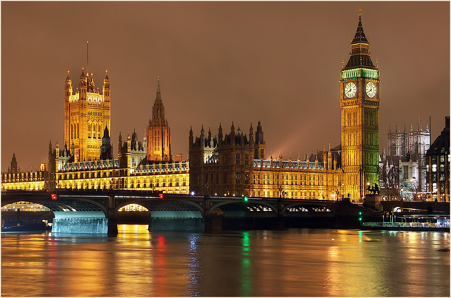 Big Ben at night (reload)