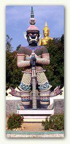 Big Buddah im Wat Pra Yai auf Koh Samui