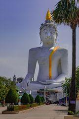 Big Buddha in Wat Phai Rong Wua
