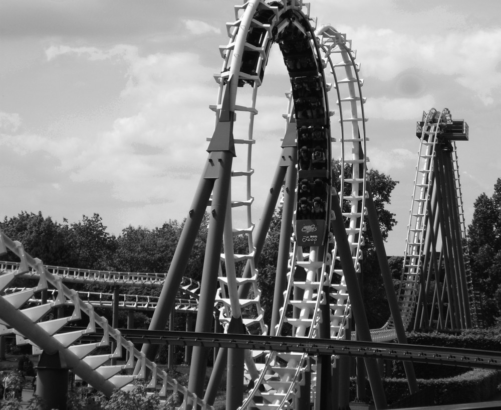 Big Loop Coaster Im Heide Park Foto Bild Experimente Youth
