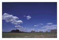Big Sky im Monument Valley