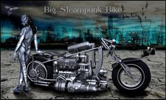 --  Big Steampunk Bike --