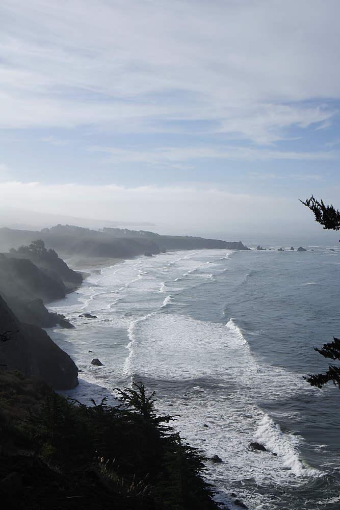 Big Sur im Morgendunst