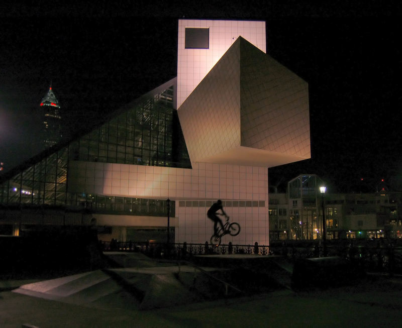 Bike and Skateboard Park by Rock and Roll Hall of Fame (Filtered)