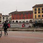 Bike parking in darsena, Milano