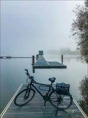 * Bike ride on an autumn day *