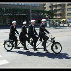 Bike & students
