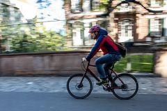 Biker im Anflug ...