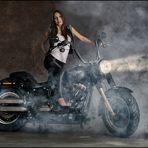 Biker Lady Nadine