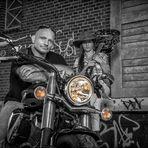 Biker-Paar _9790