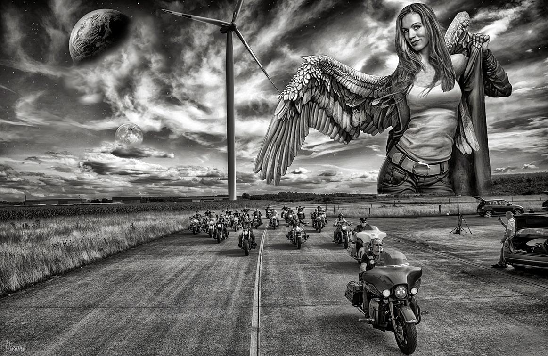 ...Biker-Schutzengel...