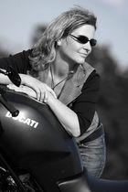 Biker-Woman :-)