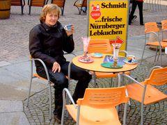 """°°° Bikerpause in Meissen - Meine """"Auspuffmieze"""" friert doch nicht etwa °°°"""