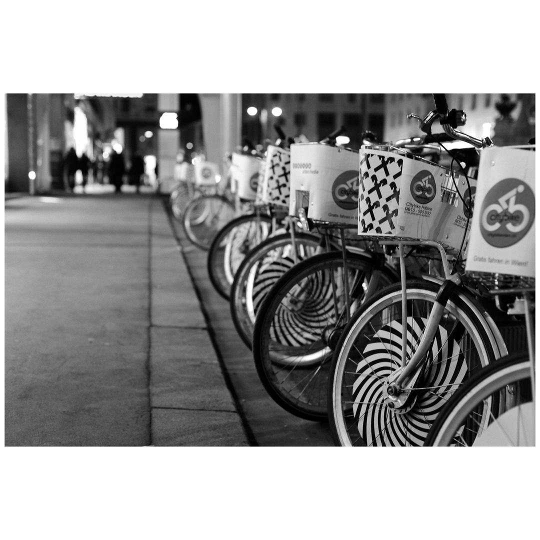 Bikes at Night