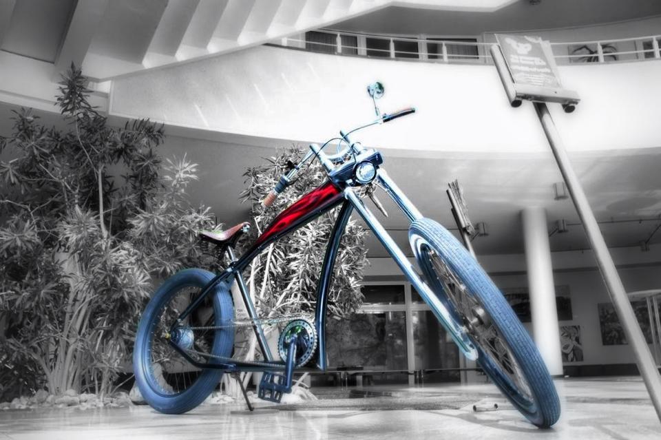 Biking Blue...