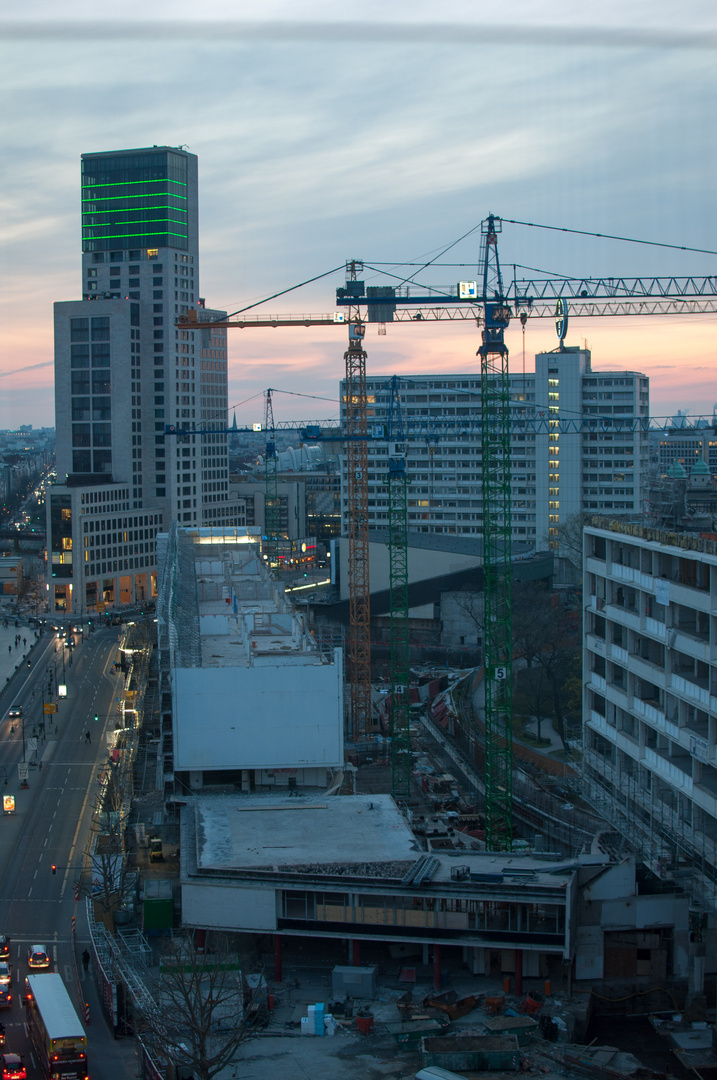 Bikini Berlin Baustelle