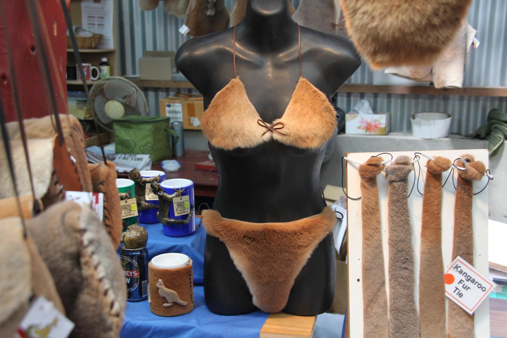 Bikini für die kalte Jahreszeit
