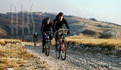 Bikking on mountain UCKA