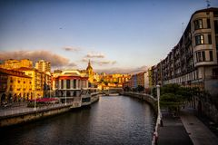 Bilbao am Abend