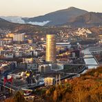 Bilbao. Mirador del Monte Artxanda.