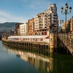 Bilbao. Quai La Ripa.