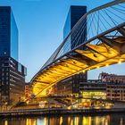 Bilbao. Zubizuri-Brücke